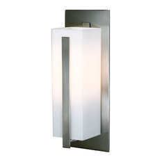 VanLumen Architectural Lighting Inc - Wall Light With Satin Nickel Metal Finish White Glass  sc 1 th 225 & Vanlumen Outdoor Wall Lights and Sconces | Houzz azcodes.com