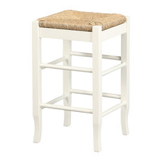 Residence - Cypress Counter Stool, White - Bar Stools and Counter Stools