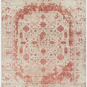 Europa 921/Beige/Red Made To Order Rug, Rectangle 12 x 15