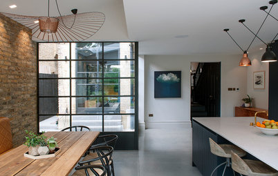 Houzz Tour: Two Flats Become One Striking Victorian Home