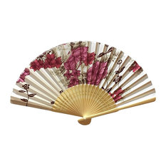 Chinese Retro Folding Fans Cosplay Handheld Fan Best Gift # 01