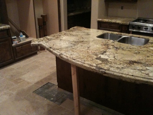 Counter Supports For Kitchen Island Countertop Or Breakfast Bar The Double Sided Support Bracket Is A Hidden