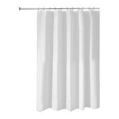 InterDesign Mildew Free Water Repellent Fabric Shower Curtain Liner