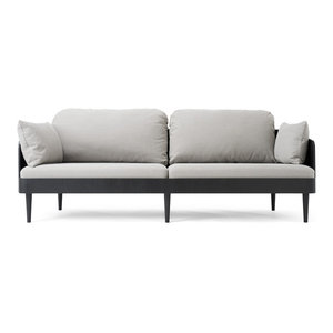 Septembre Sofa Light Gray Black Ash  menu
