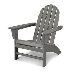 Vineyard Adirondack Chair, Slate Grey