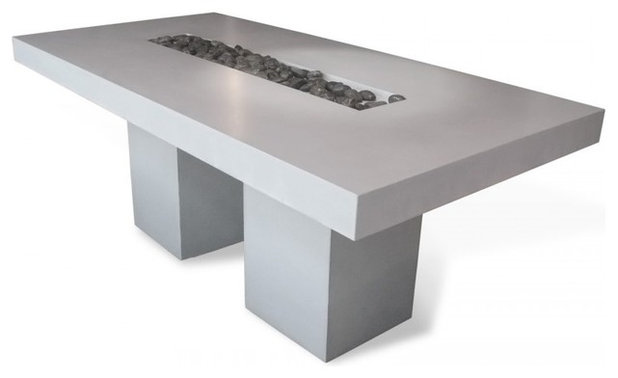 Fresh Modern Dining Tables by Concrete by LCDA