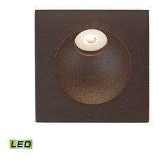 Thomas WSL6210-10-45 Zone LED Step Light, Matte Brown