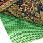 Rug Pad Corner - Super Hold Natural Rubber Runner Rug Pad, 2x14 - Prevents rug slipping with 100% natural rubber, no sticky adhesive