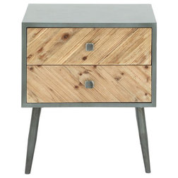 Midcentury Nightstands And Bedside Tables by Benzara, Woodland Imprts, The Urban Port
