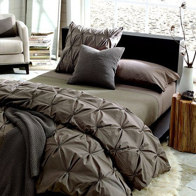Perfect Transitional Duvet Covers And Duvet Sets Organic Cotton Pintuck Duvet Cover Shams