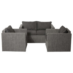 Transitional Outdoor Lounge Sets by Pangea Home