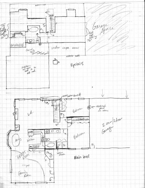 Remodel Floor Plan Help With Sketches