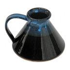 Wide Bottomed Travel Mug, Garcia Blue Glaze
