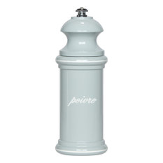 """6"""" Provencal Pepper Mill, Blue/Gray and White"""