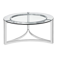 Signet Stainless Steel Coffee Table Silver