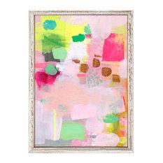 """Raspberry Rose Mint"" Mini Framed Canvas by Mati Rose McDonough"