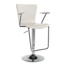 Jaques Adjustable Height Swivel Bar Stool Brown Bar Stools And Counter Stools