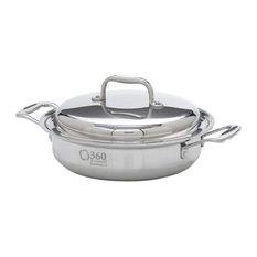 360 Cookware 2.3 Quart Casserole Pot