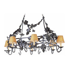 Veracruz Wrought Iron Chandelier