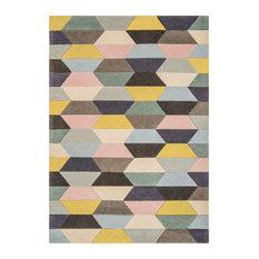 Funk Honeycomb Wool Runner, Pastel, 70x200 cm
