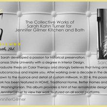 Portfolio of Sarah Turner for Jennifer Gilmer Kitchen and Bath