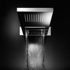 - Faucet Strommen, Doccinox 260 x 555 Wall Rain & Blade Shower - Shower Heads and Body Sprays