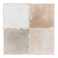 """SomerTile Grammy Mix 17-3/4"""" x 17-3/4"""" Ceramic Floor and Wall Tile"""