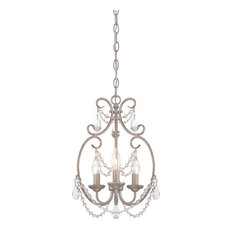 designers fountain designers fountain dahlia 3 light mini chandelier in aged platinum chandeliers