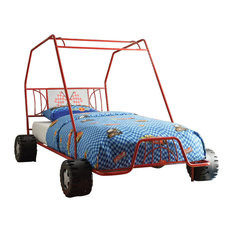 Acme Xander Twin Bed, Red Go Kart