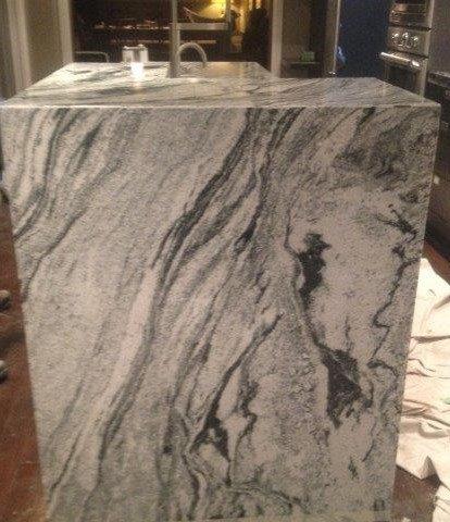 Popular b821ec b3b94 9551 w414 h480 b0 p0 contemporary - Minimalist white granite countertops cost Ideas