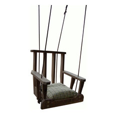 1800 Swing Chair, Natural, Cypress Wood