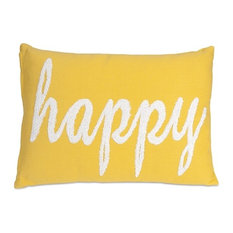Benzara, Woodland Imprts, The Urban Port   Suzie Happy Pillow   Decorative  Pillows