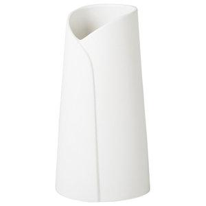 Collo Vase, White