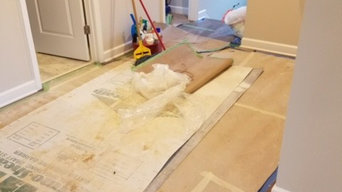 New home cleaning for builder