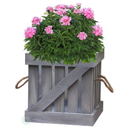 Farmhouse Outdoor Pots And Planters by Quickway Imports