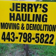 Jerry's Hauling Moving and Clean out Service's photo