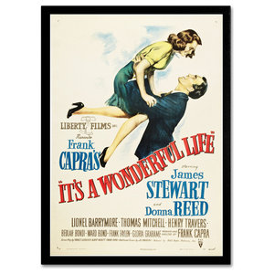 'It's a Wonderful Life' Canvas Art by Vintage Apple Collection