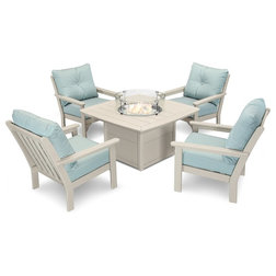 Beach Style Outdoor Dining Sets by Ivy Terrace
