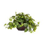 Pothos With Decorative Vase Silk Plant, Same as 6635