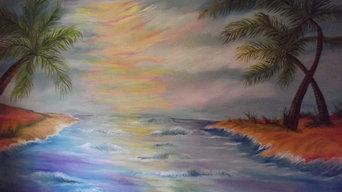 Hawaii Beach Murals