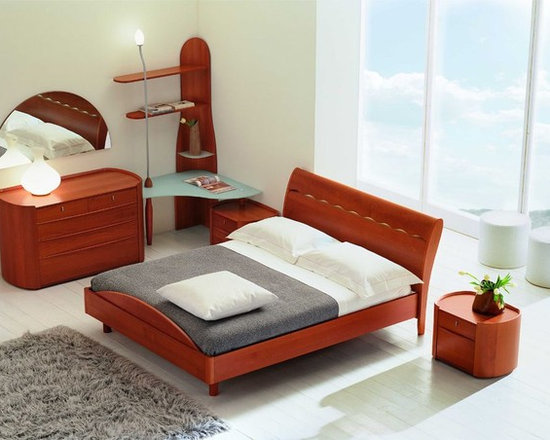 Wonderful Made In Italy Wood Design Bedroom Furniture With Storage System   Beds
