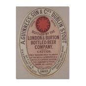 "Guinness Brewery 'Guinness, Son & Co's Dublin Stout' Canvas Art, 14""x19"""
