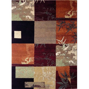 Lombard Painting 90.1 Rug, Multi Colours, 140x200 cm