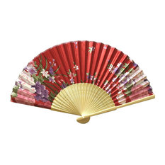Chinese Retro Folding Fans Cosplay Handheld Fan Best Gift # 08
