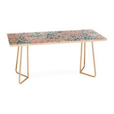 Deny Designs Jacqueline Maldonado Magic Terrazzo Pink Coffee Table