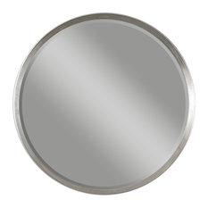 Uttermost 14547 Serenza Round Silver Mirror