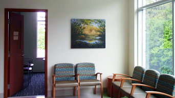 """Sunlit Grotto"" #1 installed in a Health Care facility in Surrey, BC."
