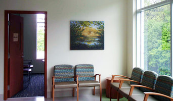 """""""Sunlit Grotto"""" #1 installed in a Health Care facility in Surrey, BC."""