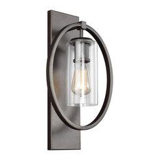 Feiss 1-Light Sconce, Bronze