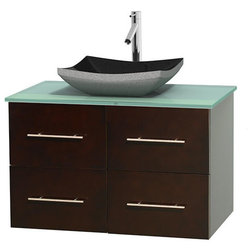 Trend Contemporary Bathroom Vanities And Sink Consoles by Bath Expo Showroom